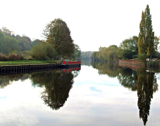 Free canal boat england british