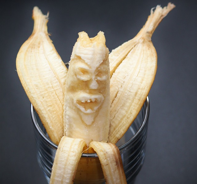 Free banana bananas banana peel monster food
