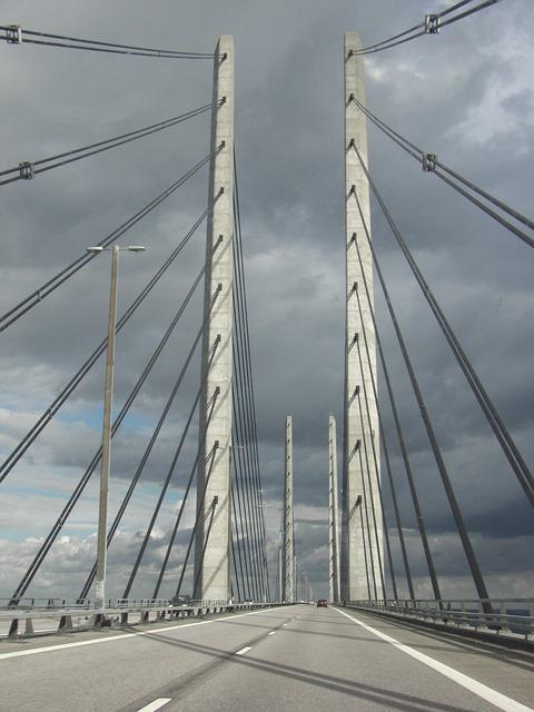 Free Photos: Bridge denmark highway | Björn Staven