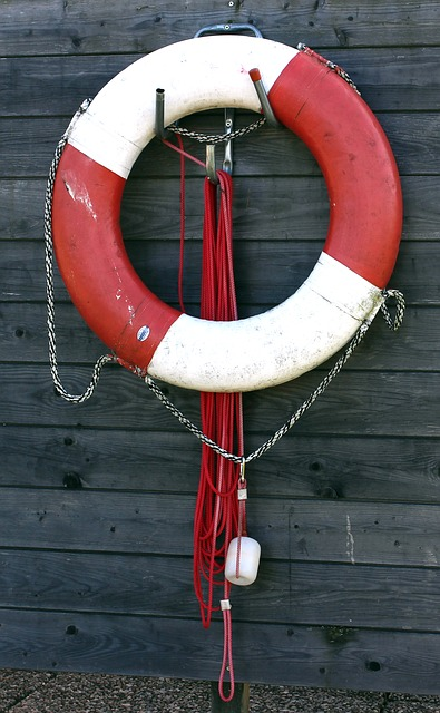 Free lifebelt rescue emergency red water rescue