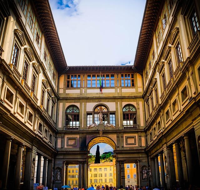 Free florence italy uffizi gallery architecture museum
