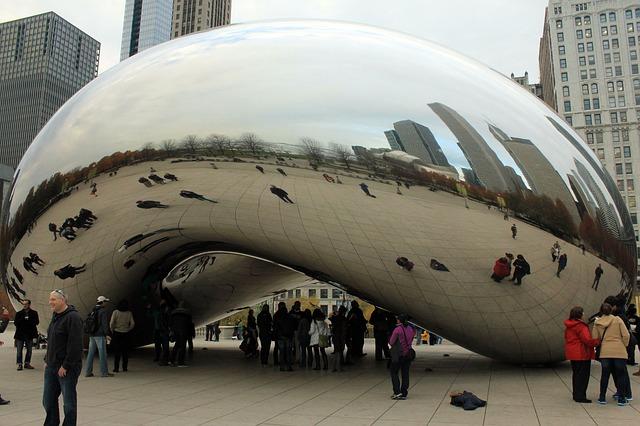 Free bean chicago usa illinois art reflexion