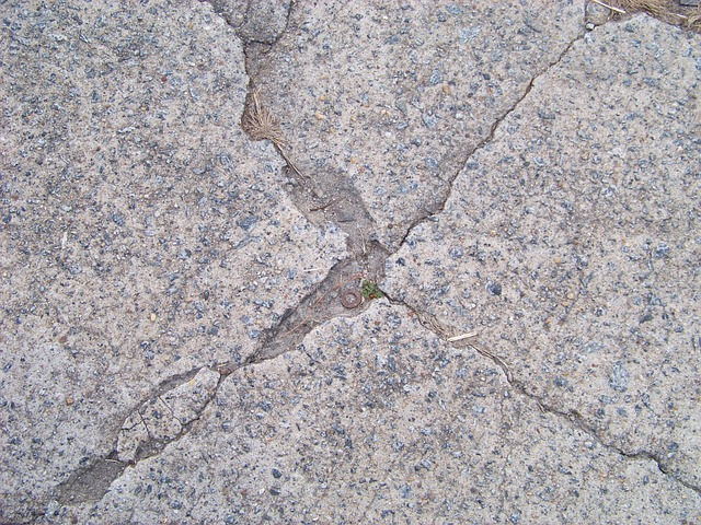 Free texture cement gray cracked