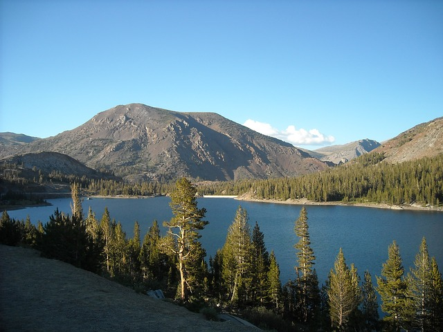 Free lake mountains yosemite california