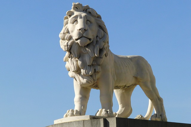 Free lion statue fig architecture london capital