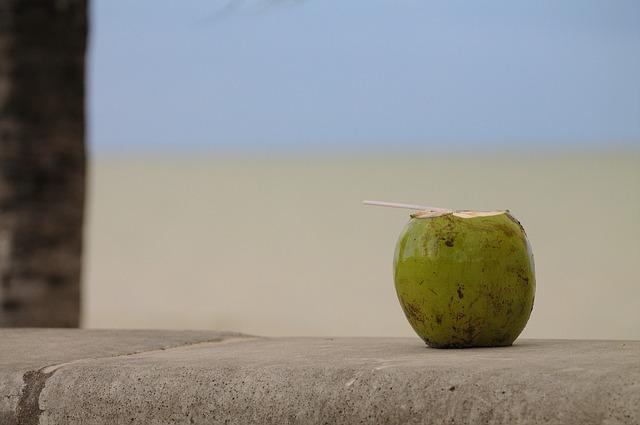 Free coco beach rest holidays relax heat refresh