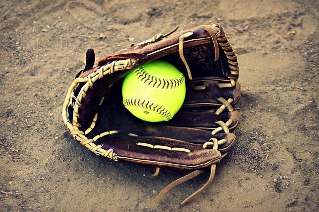Free softball outside ball leather seam stitching