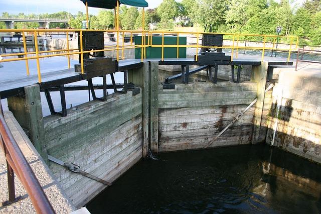Free trent-severn waterway ontario locks waterway