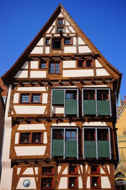 Free fachwerkhaus ulm ehinger black home sliding shutters