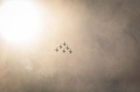 Free Planes flying in formation