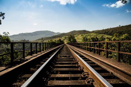 Free Railway through the hills