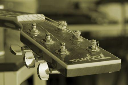 Free Headstock of guitar