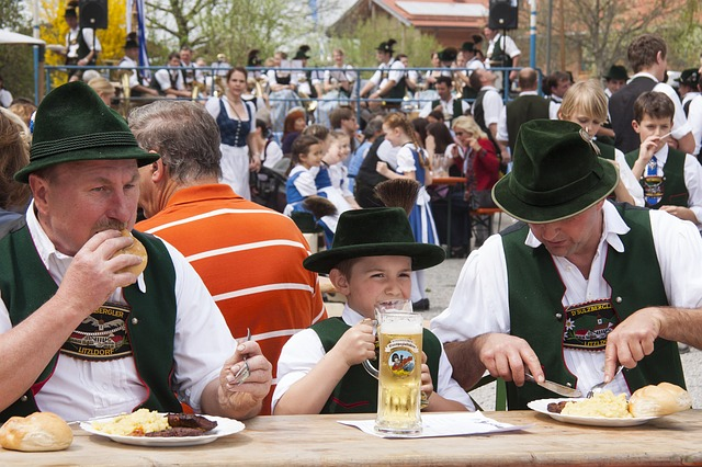 Free human personal bavarian dinner substantial costume