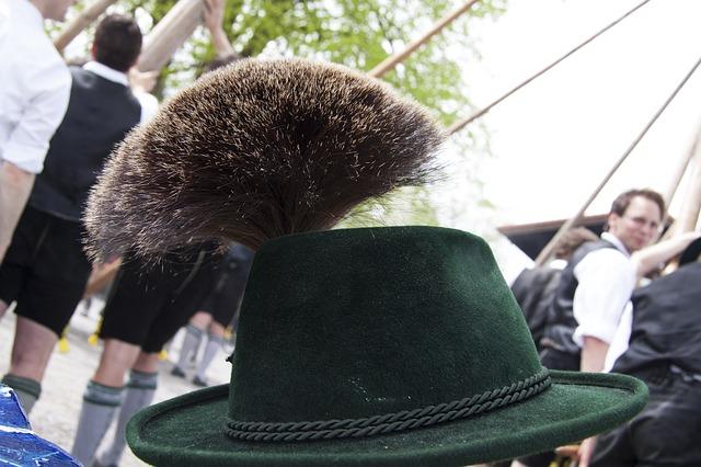 Free gamsbart gaemsbart costume hat decoration man