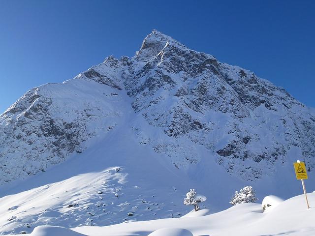 Free snow wintry montafon
