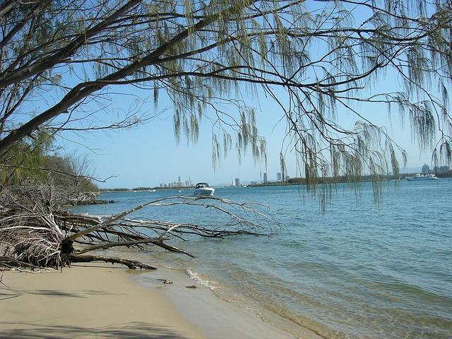 Free gold coast broadwater beach resort sand relax