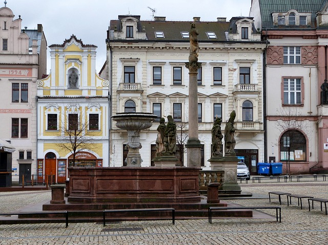 Free kolin czech republic buildings plaza monument