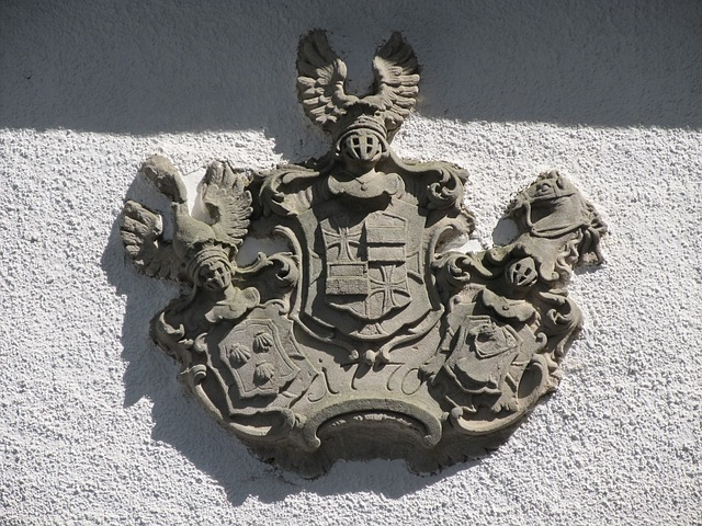 Free coat of arms input home insignia sand stone