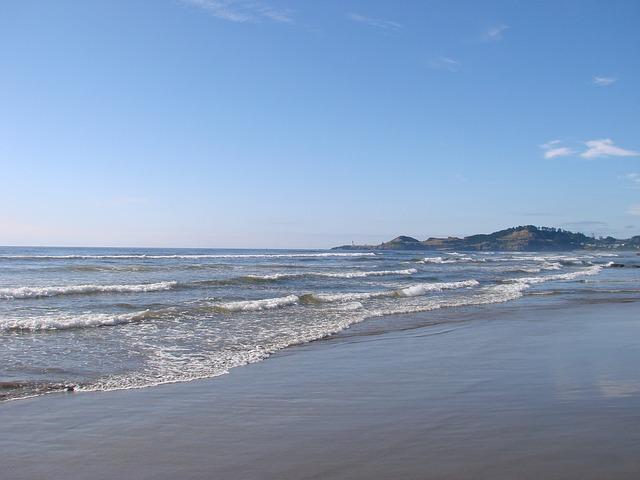 Free oregon coast shoreline pacific scenery nature