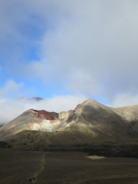Free new zealand landscape tongariro crossing mountain