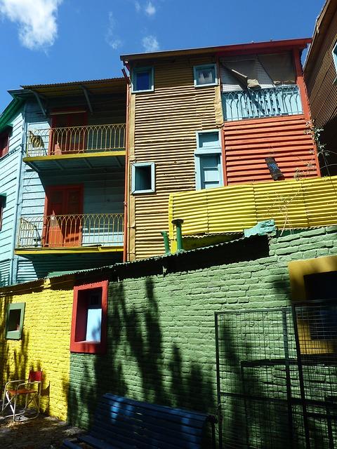 Free buenos aires la boca argentina colorful homes