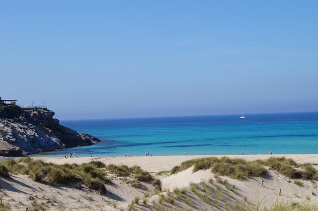 Free mallorca beach nature sea sun booked sand water