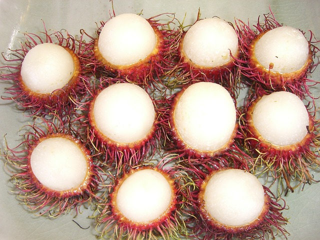 Free lychee fruit pointed thailand