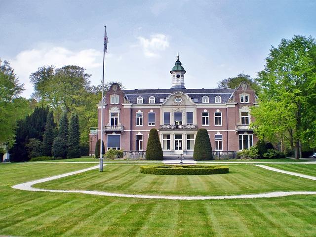Free netherlands palace mansion architecture estate