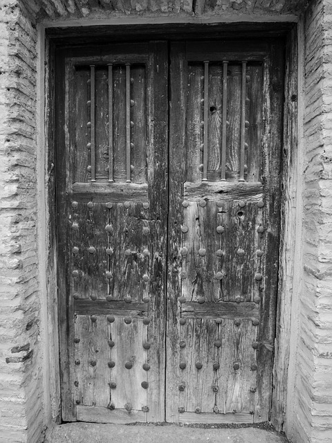 Free door wood old aldaba historical doors