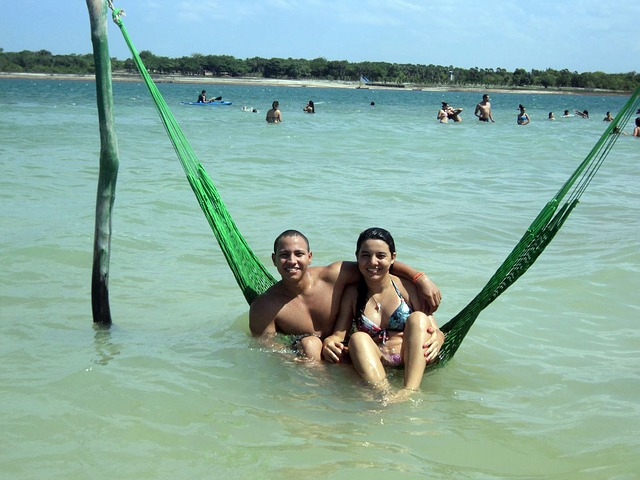 Free jericoacoara blue lagoon water beach love ceará