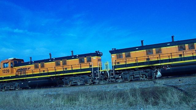 Free trains travel transportation rail tracks
