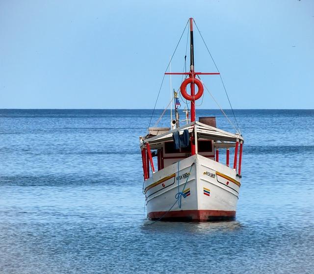 Free margarita island boat sea ocean water sky clouds