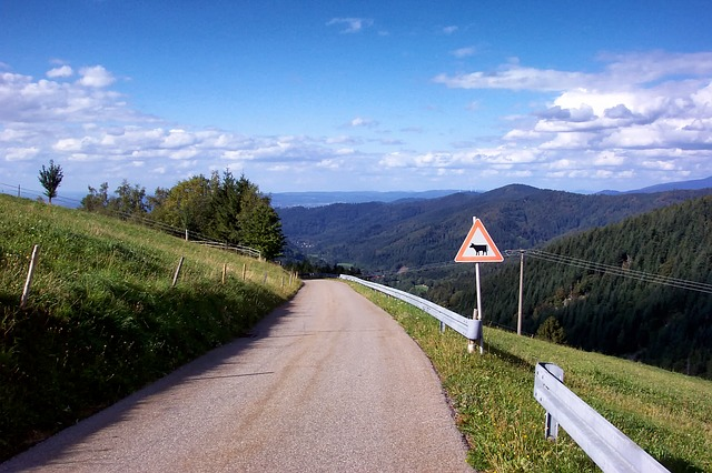 Free horben germany road landscape scenic mountains