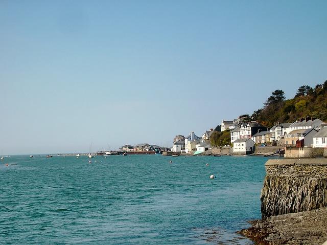 Free aberdyfi england great britain coast coastline sea
