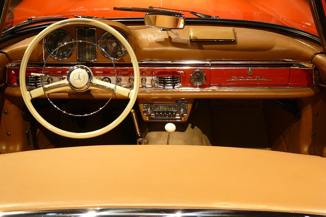 Free auto detail steering wheel oldtimer classic