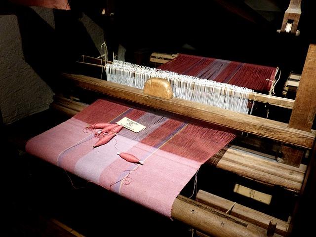 Free web framework weave work fabric clothing