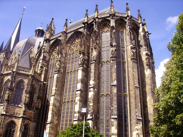 Free aachen germany church catholic building