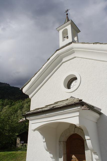 Free switzerland valais ausserberg chapel