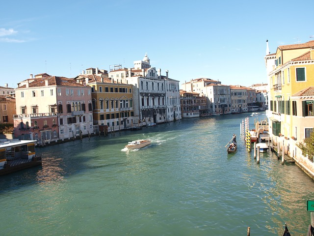 Free venice italy venetia canals water