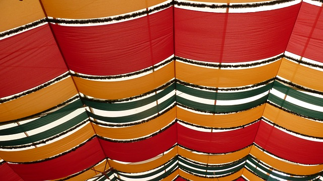 Free munich spring festival festzellt colorful pattern