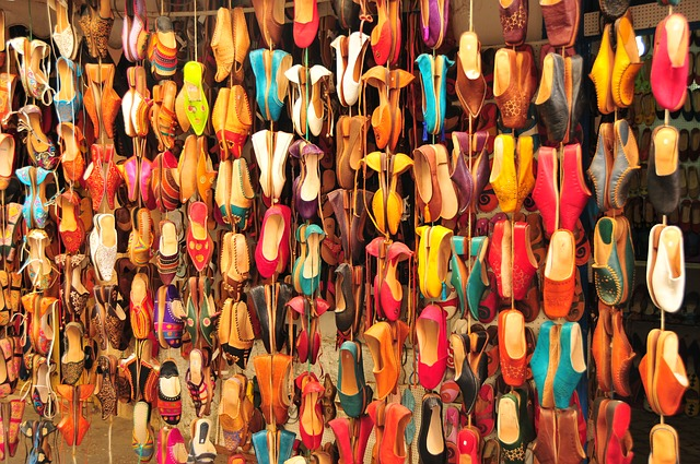 Free morocco asslah slippers crafts