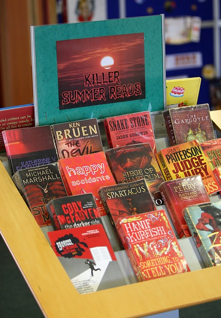 Free red book display summer reading library