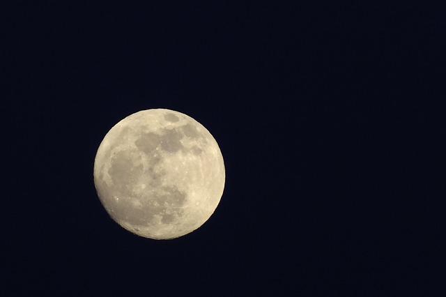 Free moon sky full moon night earth companion romantic