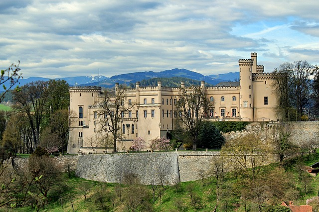 Free wolfsberg austria landscape scenic castle fortress