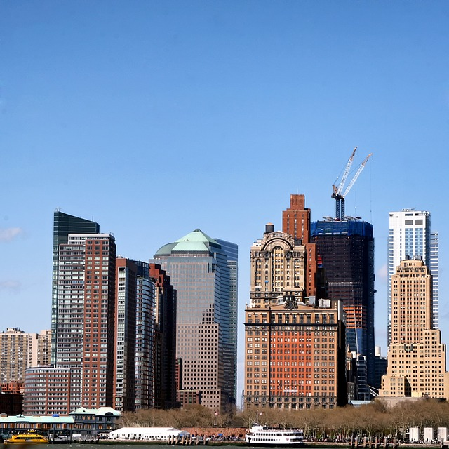 Free new york city skyline skyscrapers buildings