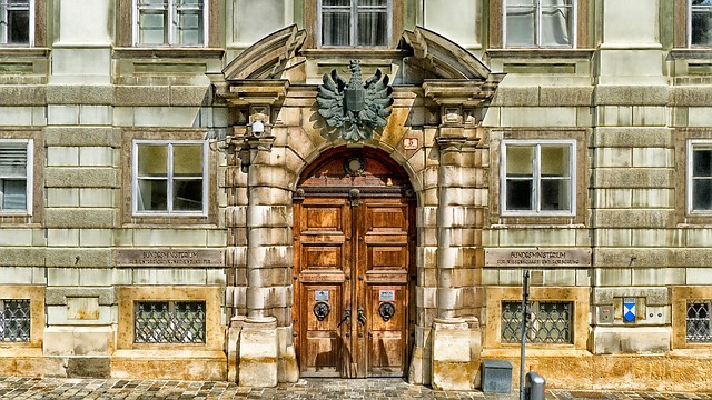 Free vienna austria building door doorway wood wooden