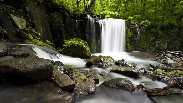 Free Photos: Waterfall valley natural   avith433