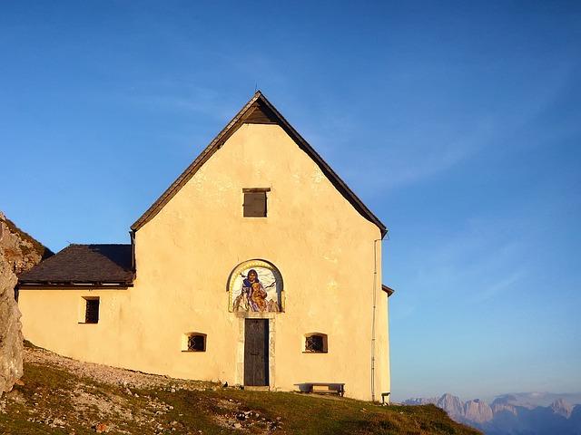 Free bad bleiburg austria church building landscape