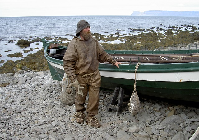Free Photos: Iceland fischer historically boot man local | Wolfgang Barth