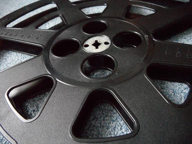 Free film reel 16mm film coil old cinema demonstration